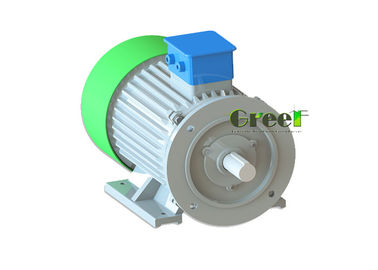 Three Phase Permanent Magnet Alternator , Low Rpm Alternator Generator